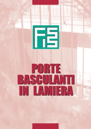 porte BASCULANTI-LAMIERA